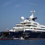Iate Octopus - Pertence a Paul Allen, seu valor é de aproximadamente Us$ 200 milhões