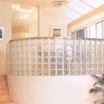 Tijolos de vidro na decoração formas de usar, fotos 10