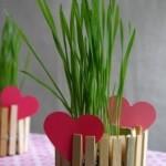 Esse é um enfeite simples, mas muito criativo e de baixo custo, ideal para o Dia dos Namorados.
