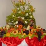 A mesa de frutas faz a diferença em qualquer tipo de ambiente.