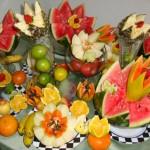 Um bom corte associado a frutas frescas e de boa qualidade garantem uma mesa perfeita.