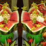 Até mesmo as crianças que não são grandes apreciadoras de frutas passam a achá-las apetitosas.