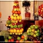 As frutas podem ser servidas de várias formas e formatos.