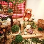 Cenário da festa 'Ursos'