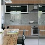 As cozinhas pequenas exigem maior cuidado na hora de fazer a decoração.
