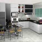 Cozinhas pequenas decoradas fotos 31