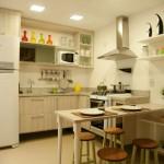 Cozinhas pequenas decoradas fotos 32
