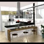 Cozinhas pequenas decoradas fotos 33