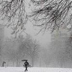 Inverno rigoroso na Espanha.