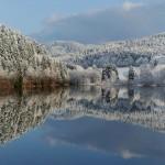O Inverno Europeu transforma a natureza em belíssimas paisagens.