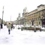 Roma no Inverno se torna mais linda do que ja é.