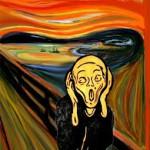 A expressão de cada artista retrata um pouco de si na releitura da obra.