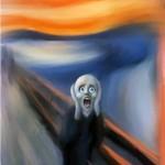 Personagens fantasmas retratam o seu sofrimento.