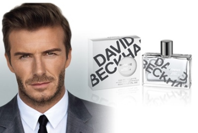 Novo perfume de David Beckham