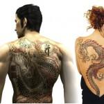 O símbolo do dragão é muito usado tanto por homens, como por mulheres. (Foto: divulgação)