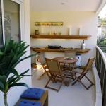 Uma boa decoração é a garantia de qualidade e beleza ao ambiente pequeno e moderno.