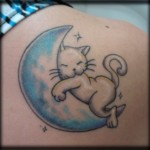 As vezes a tatuagem pode expressar um sentimento especial.