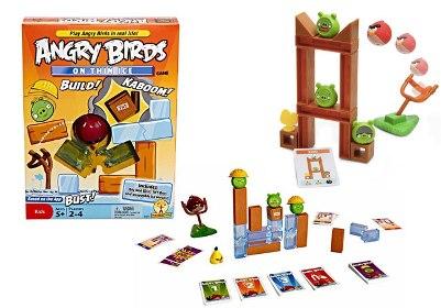 Brinquedos do Angry Birds