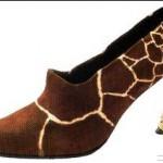Animal print estilo girafa até no salto. (Foto: divulgação)