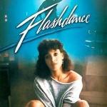 A atriz Jennifer Beals, em Flashdance: além de jeans e collants, veste moletom. (Foto: divulgação)