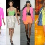 As roupas neon foram muito usadas nessa época. (Foto: divulgação)