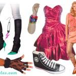 Um tênis, um gel no cabelo, uma cor, uma estampa, tudo era motivo para ser moda e ser usado. (Foto: divulgação) .