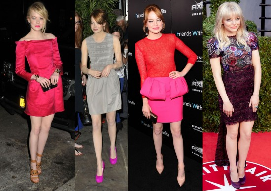 O estilo de Emma Stone: fotos