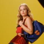 Angélica usa bolsa inspirada nos anos 70. (Foto: divulgação)