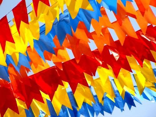 Bandeirinhas para festa junina: como fazer