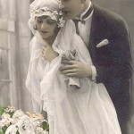 O véu era mais uma característica marcante da época. (Foto: divulgação)