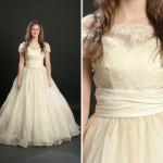 Renda e cintura marcada uma das caracteristicas dos vestidos retrô. (Foto: divulgação)