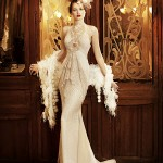 Vestido de noiva retrô, um clássico rico em detalhes de época. (Foto: divulgação)
