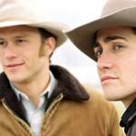 O Segredo de Brokeback Mountain - Ennis  (Heath Ledger) e Jack (Jake Gyllenhaal).