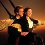 Titanic - Jack (Leonardo DiCaprio) e Rose (Kate Winslet).