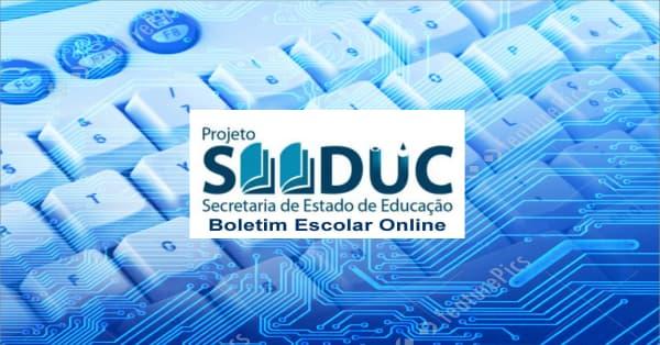 Seduc RJ - boletim online, lançamento de notas teclado de computador