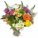 """Buquê de """"Flores do Campo"""" significa felicidade. (Foto: divulgação)"""