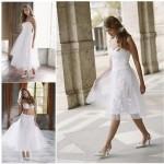 Geralmente, o indicado para os vestidos são as cores em tons suaves, porém, o que vale é o gosto da noiva. (Foto: divulgação)