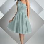 Vestidos com tonalidades claras, fugindo do branco, são excelentes opções para o casamento no civil. (Foto: divulgação)