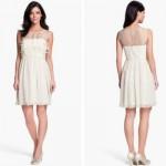 O vestido não pode ser volumoso e nem ter muitos detalhes. (Foto: Divulgação)