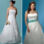 Um pequeno detalhe colorido no vestido faz uma grande diferença. (Foto: divulgação)