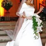 Os vestidos de noiva de inverno são muito elegantes e confortáveis. (Foto: divulgação)