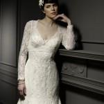 Os modelos de vestido de noiva com manga longa, variam em cortes diferentes, tons, detalhes e muito mais. (Foto: divulgação)