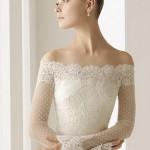 A renda e o bordado trazem charme e elegância ao look da noiva. (Foto: divulgação)