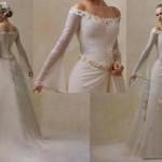 Quando for escolher o seu vestido de noiva com manga longa, tenha em mente algum modelo que tem a ver com seu estilo, algo que valorize seu corpo. (Foto: divulgação)