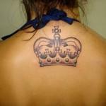 Para fazer uma tatuagem maior, o local mais indicado é as costas. (Foto: divulgação)