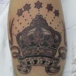 Os traços firmes deixam a tatuagem perfeita. (Foto: divulgação)