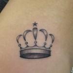 A coroa pode ser um desenho bem simples, mas objetivo. (Foto: divulgação)