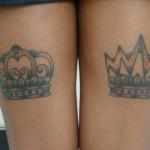 Existem vários modelos de desenhos de coroa para tatuar. (Foto: divulgação)