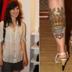 Mel Lisboa fez tatuagem de coroa em homenagem ao filho Bernardo. (Foto: divulgação)
