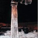 Os artistas necessitam de muita criatividade e prática para esculpir no gelo. (Foto: divulgação)